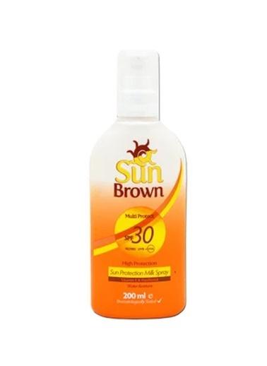 Sun Brown Güneş Koruyucu Renksiz